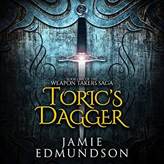 Toric's Dagger     Book One of the Weapon Takers Saga              By:                                                                                                                                 Jamie Edmundson                               Narrated by:                                                                                                                                 Greg Patmore,                                                                                        Bridget Thomas                      Length: 11 hrs and 55 mins     7 ratings     Overall 4.0