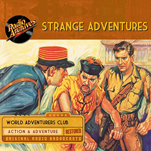 Strange Adventures audiobook cover art