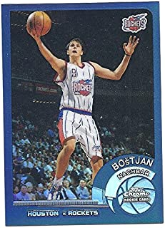 Verzamelkaarten, ruilkaarten Verzamelkaarten: sport 2002-03 Topps Chrome Refractor #165.2 Bostjan Nachbar Houston Rockets Card