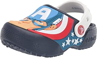 Crocs Kids' Boys and Girls Captain America Clog