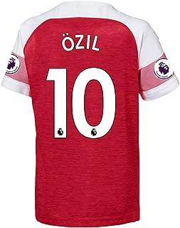 2018/19 Season Ozil #10 Home Soccer Men's Jerseys(S-XXL)