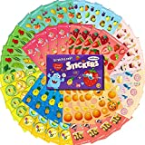 HORIECHALY Scratch and Sniff Stickers - Food Stickers for Kids, 48 Sheets 12 Scents