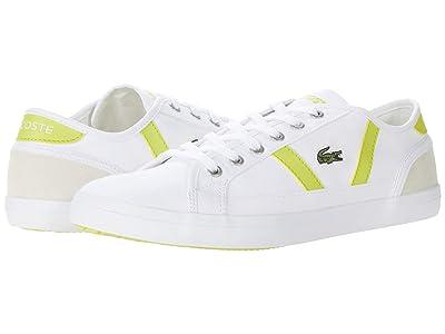 Lacoste Sideline 0120 6 CFA (White/Yellow) Women