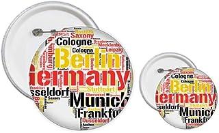 Kit de création de badges et badges avec carte de l'Allemagne