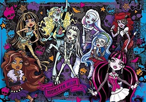 Monster High - Puzle de Vision 3D (104 piezas), diseño de Monster High