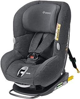 Maxi-Cosi MiloFix Kindersitz, Gruppe 0 /1 Autositz 0-18 kg, Reboarder mit Isofix, nutzbar ab der Geburt bis ca. 4 Jahre, sparkling grey