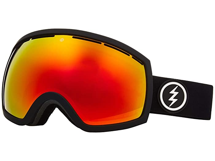 EG2 (Matte Black Brose/Red Chrome) Snow Goggles