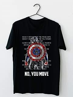 Best captain america you move shirt Reviews