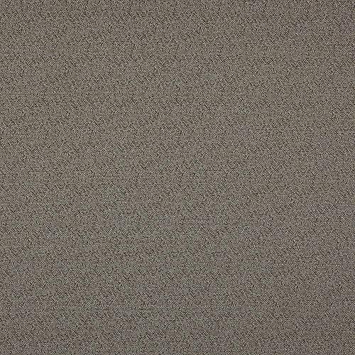 Kt KILOtela Tela de loneta Jacquard para Exterior - Dralon® - Solidez a la luz - Retal de 100 cm Largo x 280 cm Ancho | Bicolor - Marrón, Crudo ─ 1 Metro