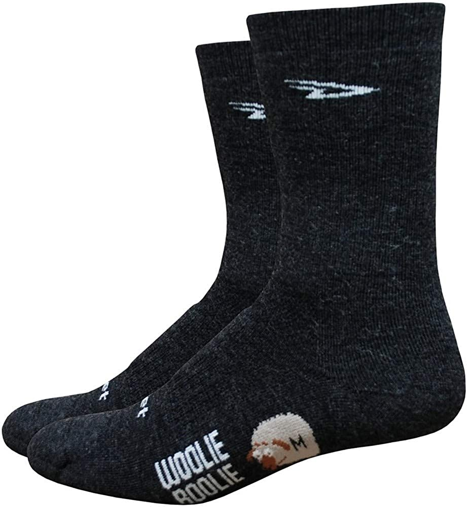DeFeet Men's Woolie Boolie 6-Inch Sock