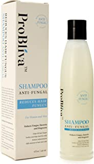 ProBliva Fungus Shampoo for Hair & Scalp - for Men and Women - Help to Reduce Ringworm, Itchy Scalp - Contains Natural Ingredients Coconut Oil, Jojoba Oil, Emu Oil