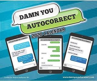 autocorrect calendar