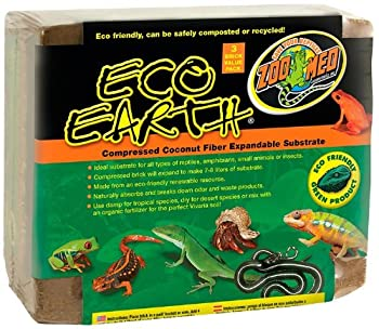 eco earth coconut fiber bearded dragon bedding