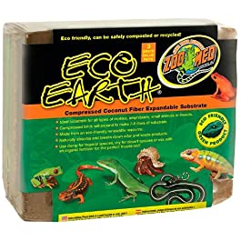 Zoo Med Eco Earth Expandable Substrate Bricks