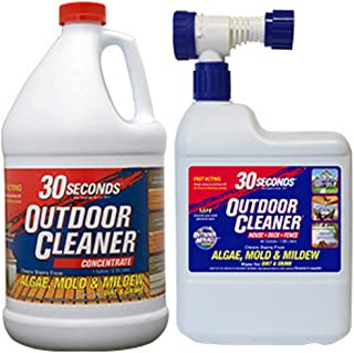 30 Seconds Outdoor Cleaner, 1 Gallon and 64 oz Hose End- Concentrate