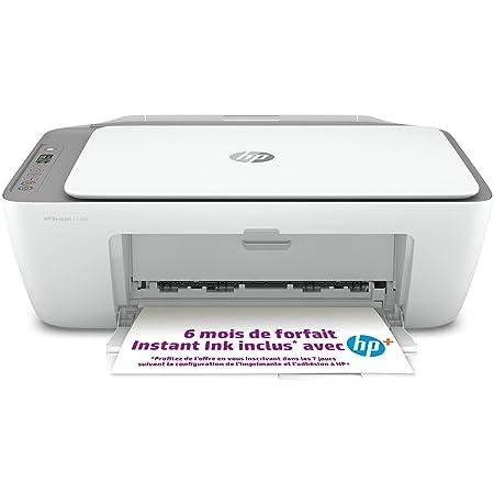 HP DeskJet 2720e Imprimante tout en un - Jet d'encre couleur – 6 mois d'Instant Ink inclus avec HP+, vos cartouches HP livrées chez vous sans avoir à y penser