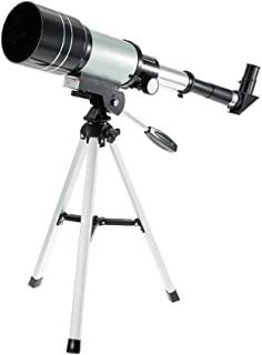 Space Astronomic Telescope, Outdoor HD Monocular 150X Refractive Telescope for Kids Educational Science Travel Spotting Sc...