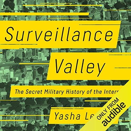 Surveillance Valley audiobook cover art