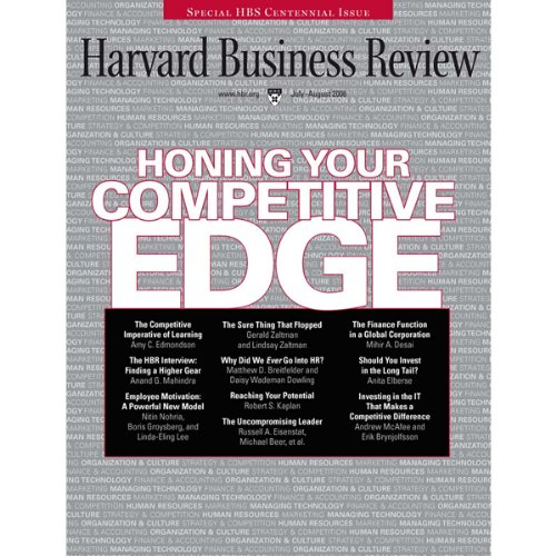 Harvard Business Review, July/August 2008 cover art