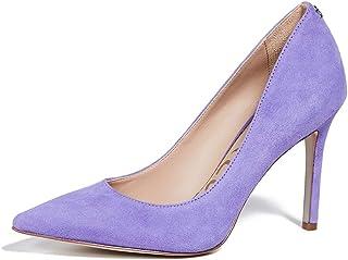 b6581f06fcaa Amazon.com  Purple - Pumps   Shoes  Clothing