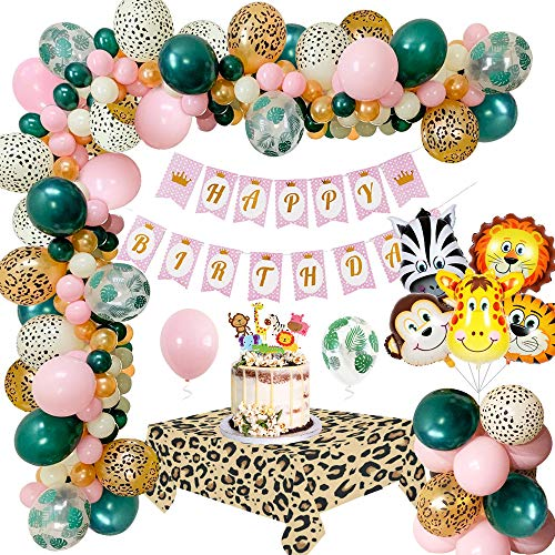 MMTX Giungla Decorazioni Festa di Compleanno Palloncino, Safari...