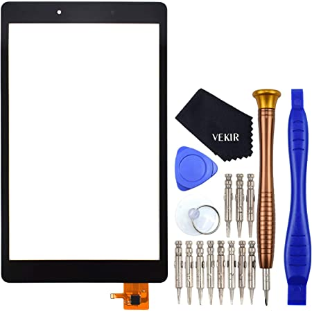 Sunways Glass Screen Replacement for Samsung Galaxy Tab A 8.0 2019 T290 SM-T290 Black Wi-Fi