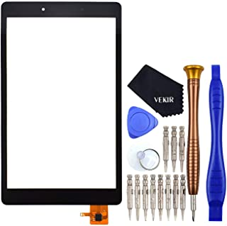 T290 Touch Digitizer Glass Screen Replacement for Samsung Galaxy Tab A 8.0 2019 Black(NO LCD)