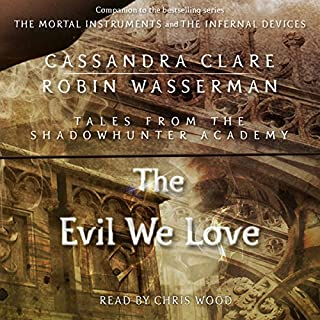 The Evil We Love audiobook cover art