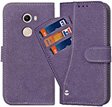 Asuwish Redmi Note 4 Wallet Case,Luxury Leather Phone Cases with Credit Card Holder Slot Stand Kickstand Book Rugged Flip Folio Protective Cover for Xiaomi Redmi Note 4X note4x Women Men Girls Purple