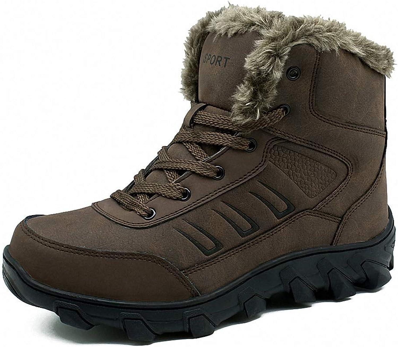 herr herr herr backpack stövlar Man Winter stövlar läder Hunting Snow stövlar Man stövlar Cow läder skor Super Warm Winter skor Big Storlek 39 -48  nya produkter nyhet objekt