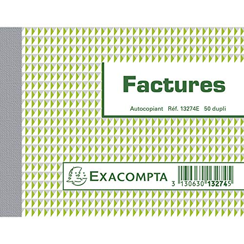 "EXACOMPTA Manifold""Factures"", 105 x 135 mm, dupli VE = 1"