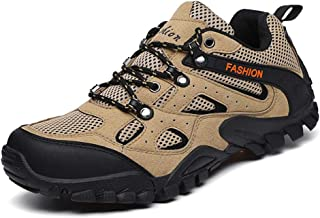 UUFLYME Men's Casual Hiking Shoes and Lightweight Walking Shoes