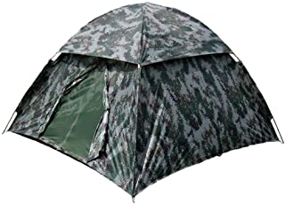 Image of MINGTIANHUIGENGHAO Double Layer Weather Resistant Outdoor Camping Tent for Fishing, Hunting Adventure and Family Party Portable Camping Thickening Foldable Field Anti-Storm Rain Sunscreen