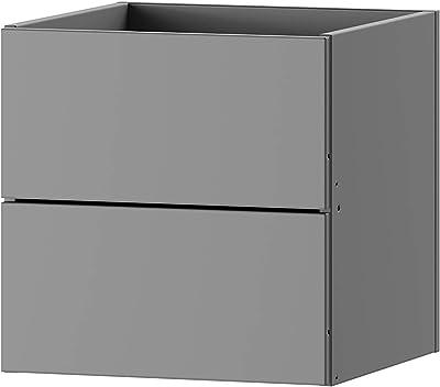 Marque Amazon -Movian MULTIBOX accessories,set of 2 drawers, 32.3 x 32.3 x 32.9 cm, white