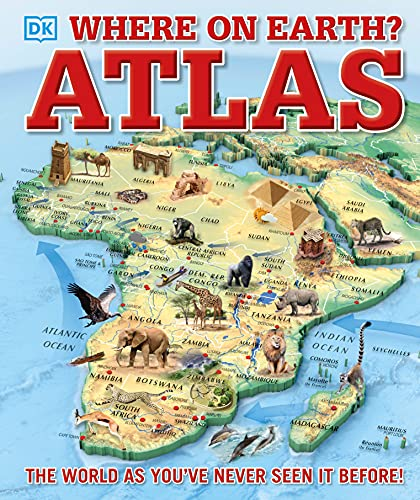 Product Image of the Where on Earth? Atlas: The World As You've Never Seen It Before