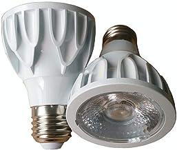 Led gloeilampen 3 Stks Lens COB Par20 Witte Gegoten Aluminium PAR LAMP 8W LED Business Illumination Constant Current Width...