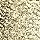 Fat Quarter Leder-Taschen, 48 x 68 cm, goldfarbene