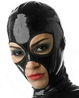Sexy Latex Mask Rubber Unisex Hood Gummi 0.4mm for Party Wear Unique