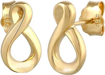 Elli Orecchini a Perno da Donna in Oro Giallo 14K