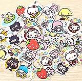 40 Stück Kreative Kawaii Selbstgemachte Sanrio Love Girl Aufkleber Schöne Aufkleber/Dekorative...