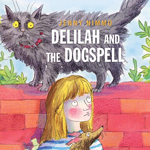 Delilah and the Dogspell audiobook cover art
