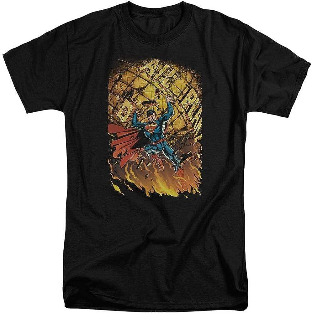 Superman Superman #1 Adult Tall Fit T-Shirt