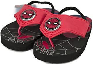 Favorite Characters Mens Spiderman¿ Lighted Flip-Flop (Toddler/Little Kid)