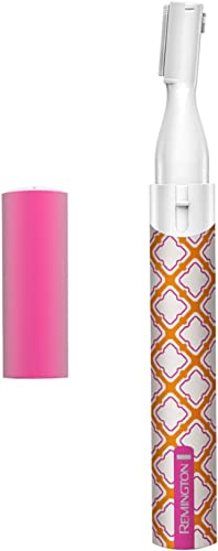 lowest Remington wholesale Smooth lowest and Silky Precision Hair Remover, Pink/Orange/White outlet sale