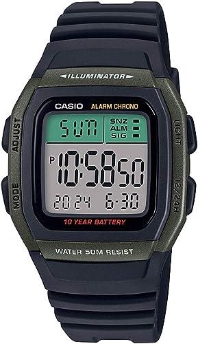 Digital Black unisex Watch W 96H 3AVDF D175