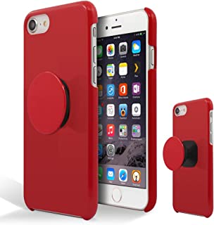[Breeze-正規品] iPhone ・ スマホケース ポリカーボネイト [RED] ZenFone 4 ZE554KL ケース エイスース ゼンフォン4 ASUS ZenFone4カバー 液晶保護フィルム付 全機種対応 [ZEN4]
