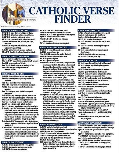 Catholic Verse Finder-Large Edition