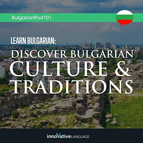 Learn Bulgarian audiobook cover art
