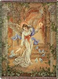 Manual 50 x 60-Inch Tapestry Throw, Angel of Light