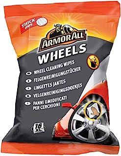 Armor All GAA33016ML5A Felgenreinigungstücher, schnelle Reinigung in nur einem Arbeitsgang, ganz ohne Wasser, 24 Stück
